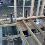 under floor bathroom plumbing