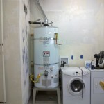 Fremont Plumber installed 75 gal. water heater