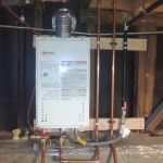 San Jose - Noritz tankless water heater NR98-SVNG
