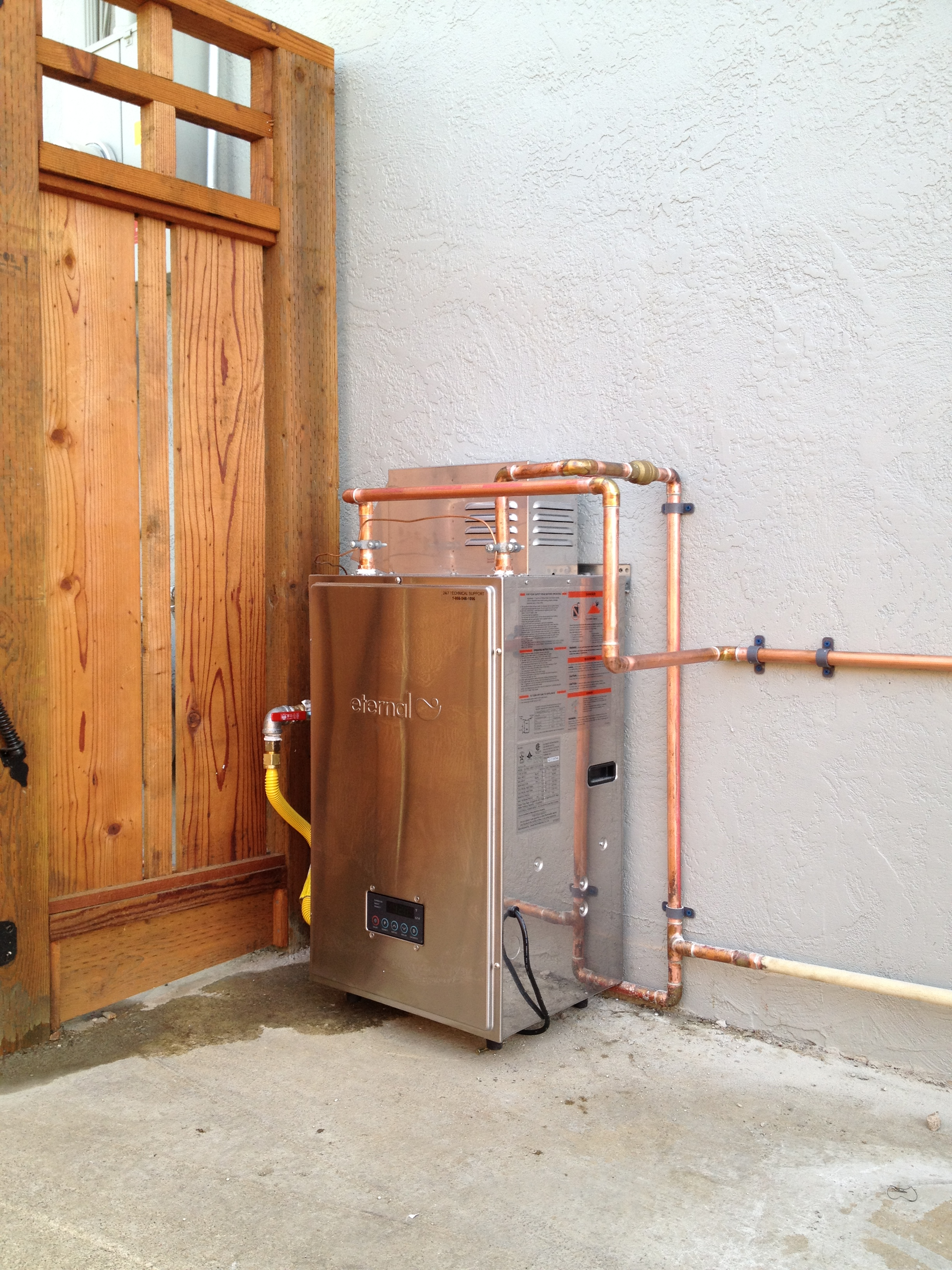 Plumber in san antonio and tankless water heater installer local fremont plumber eternal water heater ccuart Images