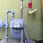 Earthquake Gas shut off valve