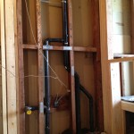 New drain plumbing by Fremont Plumber