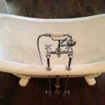 Luxury free standing tub